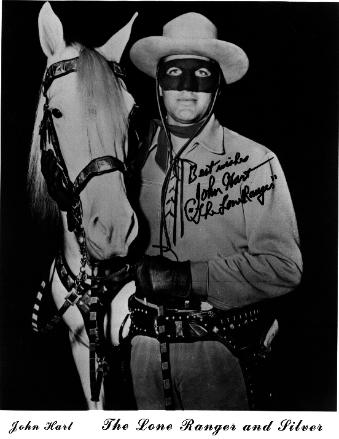 Autographed photo of John Hart