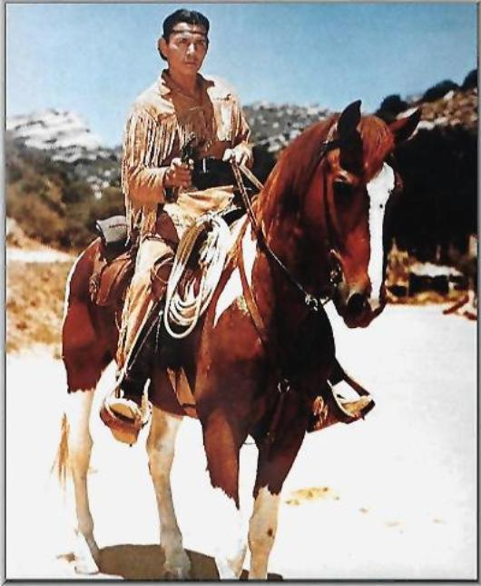 Tonto on his horse Scout